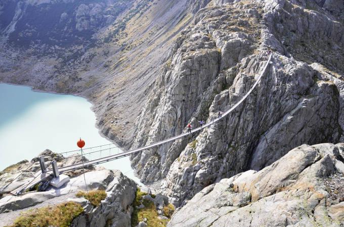 Fear of heights - Trift Bridge