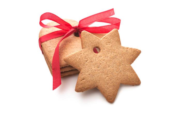 Homemade shortbread cookies