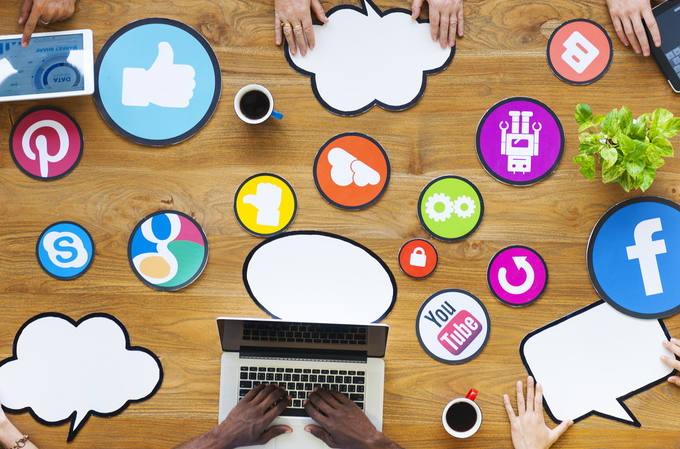 Social media concept image